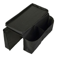 Wholesale couch bags for sale - Group buy Practical Pockets Sofa Arm Storage Bag Chair Couch Mobile Phones Magazine Storage Bags Tray Home Holder Organizer Mayitr Hot