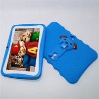 android box 4.4 groihandel-Q8-8G A33 512MB / 8GB 7 Zoll scherzt Tablette PC Viererkabel-Kern Android 4.4 Doppelkamera 1024 * 600 für Kindergeschenk mit hellem großem Lautsprecher usb