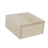 bandejas de organizador de caixa de jóias venda por atacado-10x Natural De Madeira Jóias Trinket Artesanato Caixa De Armazenamento De Bandeja Titular Organizador caixa de Jóias Acessórios