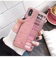 caixas de telefone celular venda por atacado-Box Sombra New Eye caso de telefone celular para o iPhone X XR XS Max IMD Silicone Telefone Capa para iPhone 6 7 8 Plus