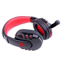 pc için bluetooth kulaklıklar toptan satış-Kablosuz Oyun Kulaklık Bluetooth Aşırı Kulak Kulaklık için Mikrofon ile PC için Telefon için PUBG ABD Stok için Siyah