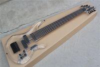Wholesale custom bass guitar bodies resale online - Custom factory new custom transparent acrylic bass guitar string electric bass guitar