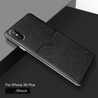 Wholesale gold cover galaxy note resale online - Luxury PU Leather Phone Case For Iphone X XR XS MAX PC PU Cover With Card Pocket For Samsung S10 S10