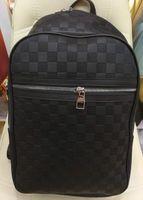Wholesale designer check bag resale online - Hot Selling Emboss styles Fashion Brand Backpack Style High Quality New Arrival Designer Backpack Letter Bags Fashion Women Men School Bags