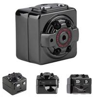 hd gizli ev kamera toptan satış-Mini Kamera SQ8 Mikro DV Kamera Eylem Gece Görüş Dijital Spor DV Kablosuz Mini Ses Video TV Çıkışı Kamera HD 1080 P 720 P Ücretsiz Kargo