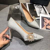 Wholesale best stilettos shoes resale online - hot sale new brand shoes with Bowtie and Rhinestone for party and dress occasian stiletto heel dress shoes best sale comfortable soft sole