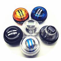 Wholesale exerciser ball for sale - Group buy Power AutoStart Spinner Gyroscopic Wrist and Forearm Exerciser Wrist Trainer Power Gyro Exerciser Ball Wrist Strengthener Stronger Arm