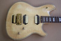 Wholesale custom made electric guitars resale online - Manufacturers custom made new electric guitar body with rosewood arm vibrato gold hardware cloud maple leaf provide customized services