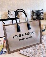large size shopping bags großhandel-2019 große kapazität damen handtasche schultertasche neue damen umhängetasche brief dekorative einkaufstasche. Größe: 48,35