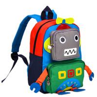 sacs à dos de pépinière achat en gros de-Enfants Toddler sac à dos 3D Cartoon École Sac Léger Préscolaire Maternelle Élémentaire Bookbags Unisexe Voyage Snack Pépinière Daypack