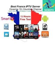 mejor set-top box de android al por mayor-Mejor Francia 1 año de NOKETV iptv abonnement para Android set top box árabe francés suscripción Europa paquete de TV