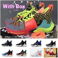 zapatos de gran tamaño al por mayor-Con estuche Envío Tamaño 40-46 NUEVO 2019 Russell Westbrook 2 ¿Por qué no Zer02 Thunder Men Zapatillas de baloncesto Negro Super multicolor Sport Sneakers