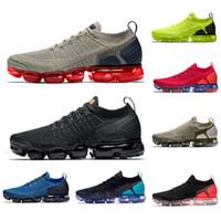 ingrosso scarpe da corsa delle donne blu scuro-Nike air Vapormax plus tn shoes  Aurora Green TN PLUS Mens running shoes triple Ice Blue Regency Purple Multi Hyper Violet GRAPE men women trainers sports sneakers 36-45