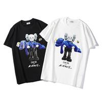 camiseta de los hombres de la medusa al por mayor-Diseñador de lujo para hombre T Shirt Diseñador de manga corta moda Medusa impresión alta calidad hombres mujeres Hip Hop Tees