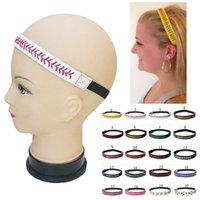 beyzbol şapkaları toptan satış-Beyzbol Softbol Kafa Dikiş Dikiş Fastpitch Deri Streç Elastik Spor ve Moda Bandı Hediyelik Eşya Hediye 20 Renkler