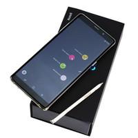 corea celular al por mayor-Corea Smartphone Note8 Android 6.3 pulgadas HD 64bit MTK6580 Quad Core teléfonos celulares 1 gb RNOTE 8AM 8 gb ROM Mostrar falso 4g Lte 64 gb Envío gratis