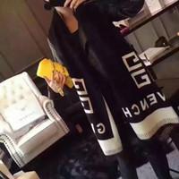 ingrosso famoso inverno-FF marchi di design donne sciarpa Famous Marchi Sciarpe autum inverno difende caldo involucri della sciarpa Pashmina morbidi come il cashmere scialle promontori caldi