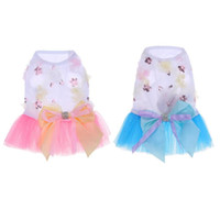 Wholesale dresses vip resale online - Pet Dog Dress Skirt Vip Dog Teddy Bommey Pet Dress Candy Color Skirt Suitable For Small And Medium Sized Dogs Such As Best Bear