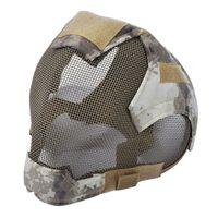 Wholesale steel mesh face mask resale online - Outdoor Mask protective full face fencing Steel Mesh mask