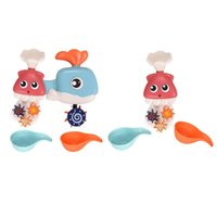 Wholesale toy bathtub for sale - Group buy Cartoon Shape Baby Infant Kids Bath Water Play Spinning Bathroom Toy Games Bathtub Spray Water Toy w Waterfall Station For Baby
