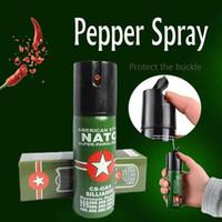 biber spreyi toptan satış-Kendini Savunma Ürün Serisi Mini Biber Gazı PEPPER SPREY