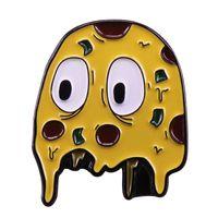 jogos de pac man venda por atacado-Pac-man fantasmas duro esmalte pin retro 80s video games emblema bonito além