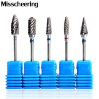 Wholesale milling tool carbide resale online - 1pcs Tungsten Carbide Nail Drill Bits Electric Nail Milling Cutter File for Manicure Pedicure Art Tools Remove Polish