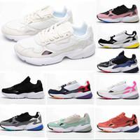 Wholesale original leather shoe for men resale online - 2019 Falcon W Running Shoes For Women Men High Quality Falcon Shoes Luxury Designer Sneakers Originals Jogging Outdoors US5