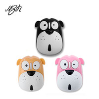 Wholesale computer dogs for sale - Group buy Cute Cartoon Dog Wireless Mute Mouse DPI Energy Saving Ergonomic Optical Mice Universal Computer Mouse for Laptop PC