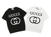 diseño de impresión de la camiseta para hombre al por mayor-19ss nuevo diseño Paris g Programa Mundial de Alimentos para hombres y mujeres camisetas bb Mode imprimir camiseta de manga corta para hombre tops