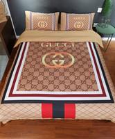 Wholesale men duvet cover resale online - Branded Baby Adult Home Bedding Sets Designer Women Men Classic Cotton set Duvet Cover Set Bed Sheet Duvet Cover Pillowcase