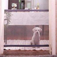 ingrosso canili portatili-Recinti per animali domestici per cani Magic-Gate Canili di sicurezza ripiegabili portatili per canili Protezione interna ed esterna Sicurezza Magic Gate per cani Gatto Pet
