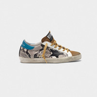erkekler egzersiz ayakkabıları moda toptan satış-SıCAK İtalya Venüs db GDB Süperstar Deri Bayan Moda Tasarımcısı Yıldız Yıldız Eğitim Ayakkabı Rahat Iç Klasik Eski Erkekler Rahat ayakkabılar 46