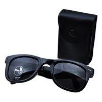 katlanabilir aynalar toptan satış-Óculos De Sol UV400 Katlanmış Vaka Erkekler Kadınlar Marka Tasarım Aynalı Güneş Gözlüklü N Katlanabilir Güneş Katlama Gözlük