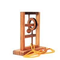 jouets de haute qualité pour adultes achat en gros de-En bois Alpinia Rat Piège Décompression Jouet Adulte Enfants IQ Cadeau Drôle Déblocage Simple Pratique Haute Qualité Populaire 38tm D1