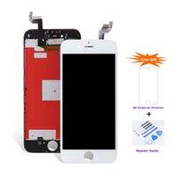 iphone lcd screens para la venta al por mayor-Para iPhone 6S LCD Venta de fábrica Pantalla LCD táctil de reemplazo Pantalla de mejor calidad precio de Factouy Venta