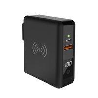 drahtloses ladegerät großhandel-Drahtlose Power Bank Lieferung 18W Schnellladegerät und Qi-kompatibler 10W Power Bank Universal Adapter für iPhone X