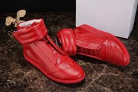 Wholesale name sneakers for sale - Group buy New Fashion Designer High Top Shoe Man Casual Name Brand High Quality Hook Loop Mixed Colors Flat Cheap Sneaker Shoes Male Size
