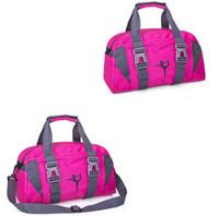 7c13f3fb7c4c Yoga Fitness Bag Waterproof Nylon Training Shoulder Crossbody Sport Bags  For Women Travel Duffel Gym Bags