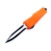 cuchillo bm47 al por mayor-Tamaño completo PD A07 9 pulgadas naranja doble acción opcional Caza plegable hoja fija Cuchillo de bolsillo Cuchillo de supervivencia Regalo de Navidad bm47