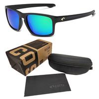 vintage zubehör für männer großhandel-Sport Sonnenbrille Vintage Costa Sonnenbrille Männer Schutzbrille Für Männer 580 P Spiegel Männlichen Platz Sonnenbrille Brillen Zubehör MIT LOGO