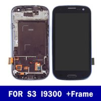 Wholesale touch display for samsung galaxy s3 for sale - Group buy Mobile phone LCD display screen for Samsung galaxy S3 i9300 GT i9301 i9308 TFT touch digitizer frame assembly replacement