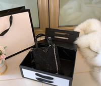 Wholesale shining handbags for sale - Group buy mini Shopping Bag canvas With Genuine Leather tote High Quality Tote Bag Shining Handbag women bags