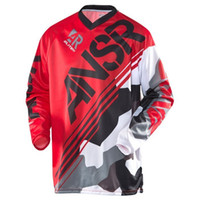 Wholesale motorcycle racing costume resale online - 2018 New MOR long sleeve motorcycle motocross racing costume t shirts bike Mountain drop speed riding suit