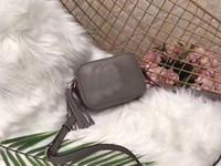 Wholesale ladies hand bag lock online - Designer Handbags shoulder crossbody tassel disco bag soho leather women fashion purse ladies purse hand bag