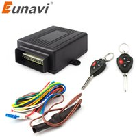 Wholesale car lock system keyless for sale - Group buy Eunavi V New Universal Car Auto Remote Central Kit Door Lock Locking Vehicle Keyless Entry System hot selling