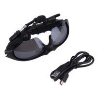 Wholesale headphones headset sport mp3 player resale online - Sunglasses Bluetooth Headset Sunglass Stereo Wireless Sports Headphone Handsfree Earphones mp3 Music Player