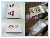 Wholesale kylie lipstick holiday edition for sale - Kylie lipstick Birthday pink Valentine holiday Edition lip Kit Kylie Lip gloss Matte Lipsticks collection Cosmetics set