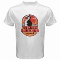 логотип музыка оптовых-New Merle Haggard Country Music Tour Logo Мужская белая футболка Прохладный xxxtentacion Маркус и Мартинус скидка бесплатная доставка футболка
