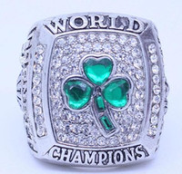 Wholesale real gold diamond rings for sale - Group buy real fine Kevin Garnett Championship Rings Men rings